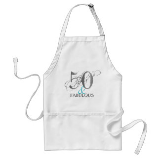 Fifty Year Old Birthday Party | Apron