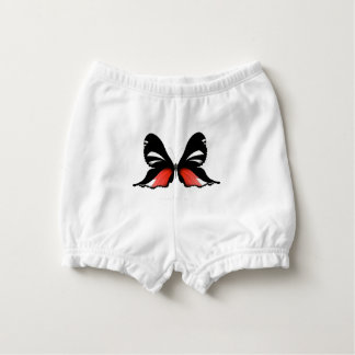 fig 3 Red Butterfly by tony fernandes Nappy Cover