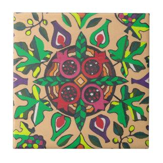 Fig and Pomegranate Medley Tile