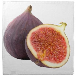 """""""Fig"""" design cloth napkins"""