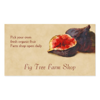 Fig fruit sales pack of standard business cards