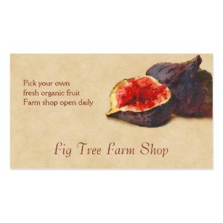 Fig fruit sales pack of standard business cards