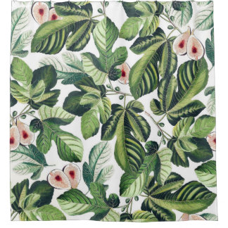Fig Garden Shower Curtain