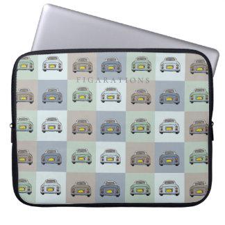Figarations Multi Figaro Cars Laptop Sleeve