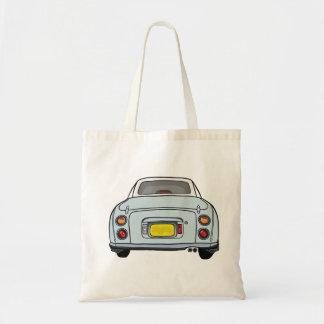 Figarations Pale Aqua Nissan Figaro Tote Bag