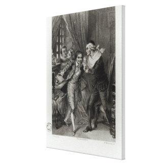 Figaro Canvas Print
