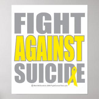 Fight Against Suicide Print