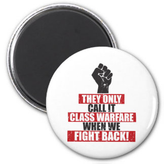 Fight Back 6 Cm Round Magnet