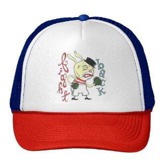 """Fight Back"" Fightin' Bunny Trucker Cap"