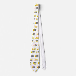 Fight Believe Hope - Appendix Cancer Tie