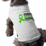 Fight Believe Hope - Non-Hodgkin' s Lymphoma Dog Tee Shirt