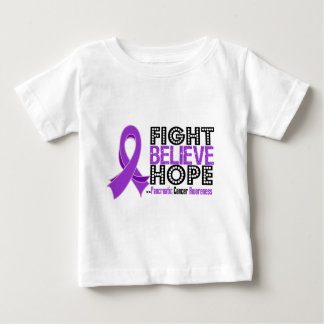 Fight Believe Hope - Pancreatic Cancer T-shirts