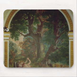 Fight between Jacob and the Angel, 1850-61 Mouse Mat
