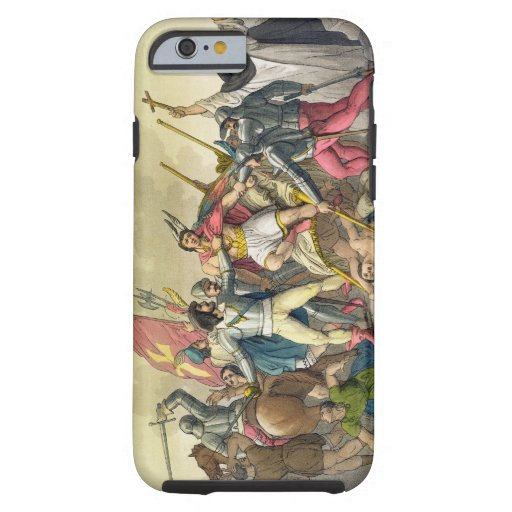 Fight Between Local Indians and Conquistadors (col iPhone 6 Case