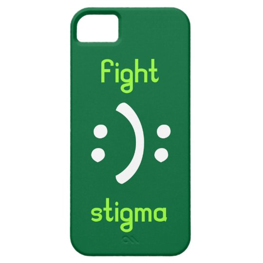 Fight bipolar Stigma iPhone 5 Cases
