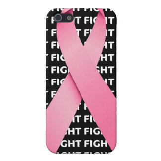Fight Breast Cancer Awareness Ribbon Case For The iPhone 5