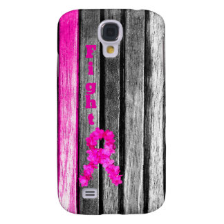 Fight Breast Cancer Galaxy S4 Case