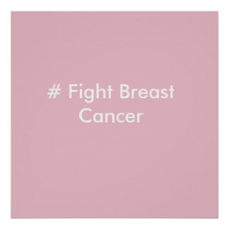 # Fight Breast Cancer Poster
