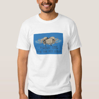 fight bsl - save the pit bulls destroyed tee