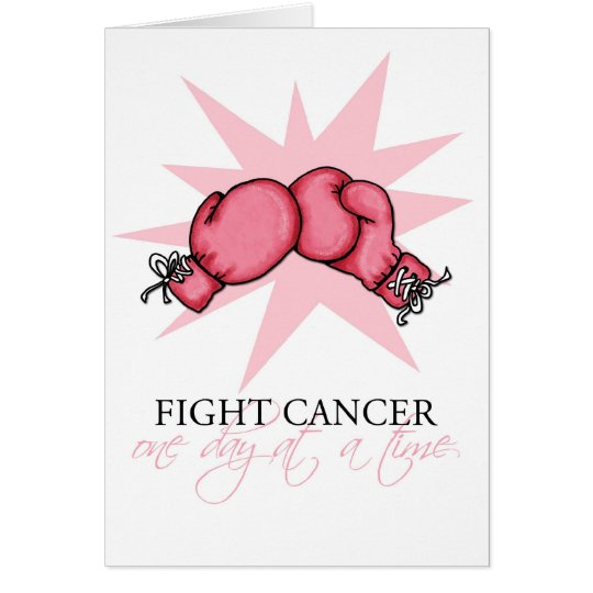 Fight Cancer One Day at a Time Card