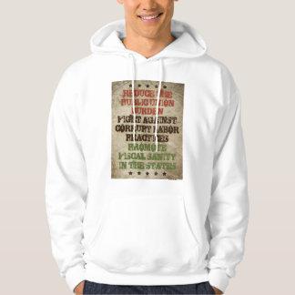 Fight Corrupt Labor Hooded Sweatshirts