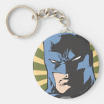 Fight Crime - Keep Peace - Batman Basic Round Button Key Ring