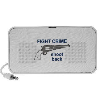 FIGHT CRIME MP3 SPEAKERS