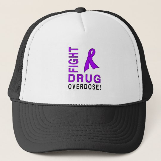 Fight Drug Overdose Trucker Hat