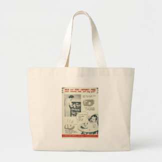 Fight Food Waste World War 2 Tote Bags