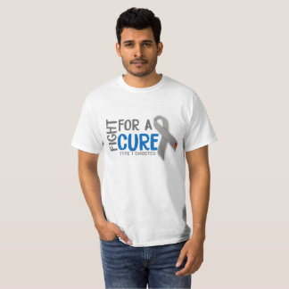 Fight For a Cure For Type 1 Diabetes T-Shirt