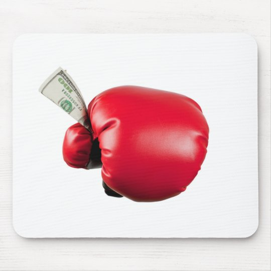 Fight for money mouse mat
