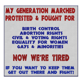 Fight For Rights Posters