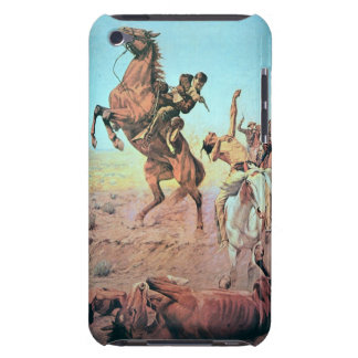 Fight for the Water Hole (colour litho) Barely There iPod Case