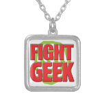 Fight Geek Personalized Necklace