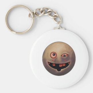 Fight Grin Basic Round Button Key Ring