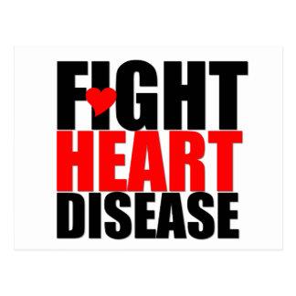 Fight Heart Disease Postcard
