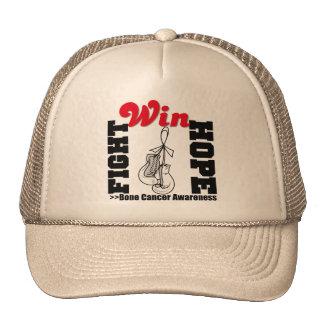 Fight Hope Win - Bone Cancer Trucker Hats