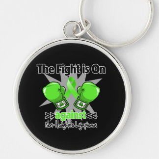 Fight is On Against Non-Hodgkins Lymphoma Key Chain