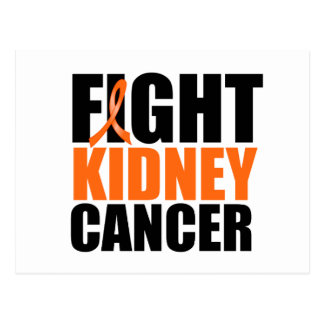 Fight Kidney Cancer Postcard