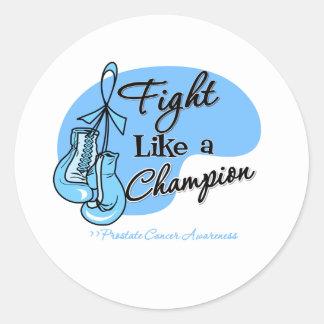 Fight Like a Champion Prostate Cancer Sticker