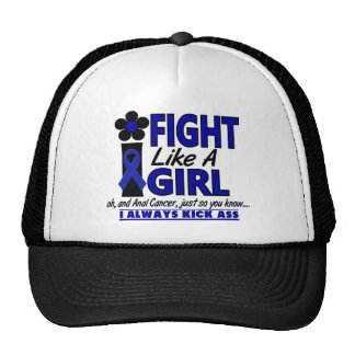 Fight Like A Girl 1.2 Anal / Rectal Cancer Mesh Hat