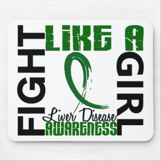 Fight Like A Girl 3.3 Liver Disease Mouse Pad