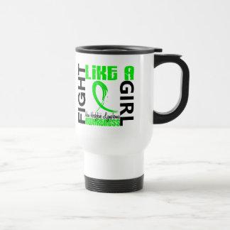 Fight Like A Girl 3.3 Non-Hodgkin's Lymphoma Stainless Steel Travel Mug