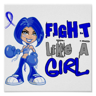 Fight Like a Girl 42 8 ARDS Print