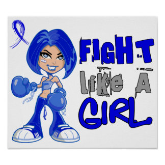 Fight Like a Girl 42.8 Dysautonomia Posters
