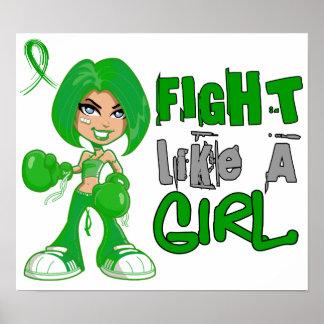 Fight Like a Girl 42.8 Gastroparesis Print