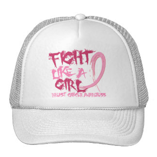 Fight Like A Girl 5.3 Breast Cancer Trucker Hat