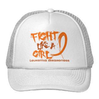 Fight Like A Girl 5.3 Leukemia Trucker Hat