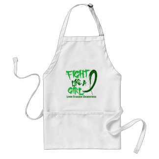 Fight Like A Girl 5.3 Liver Disease Aprons