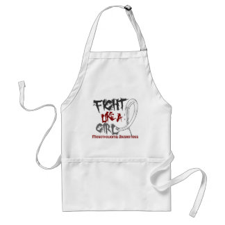Fight Like A Girl 5.3 Mesothelioma Adult Apron